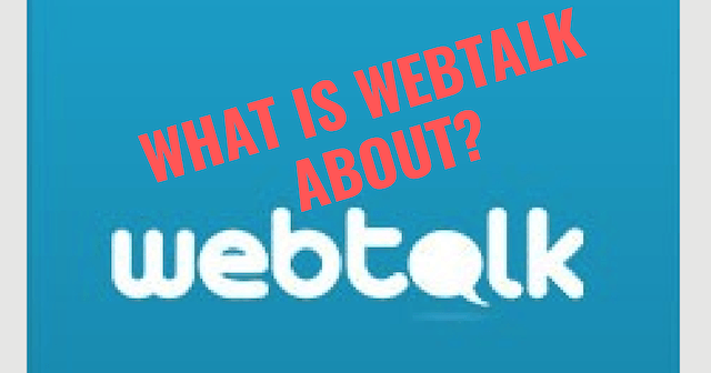 What is Webtalk About?