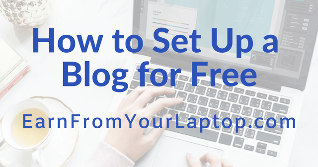 How to Set Up a Blog for Free