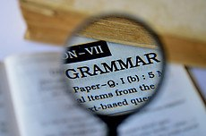 Keyword Must Make Grammatical Sense