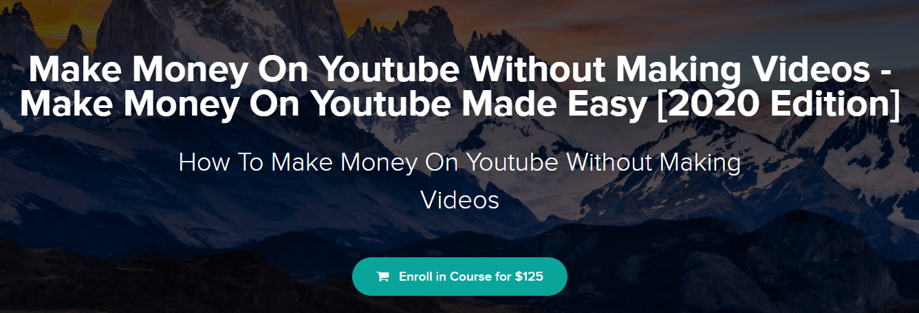 bye 9 to 5 Make Money On Youtube Without Making Videos