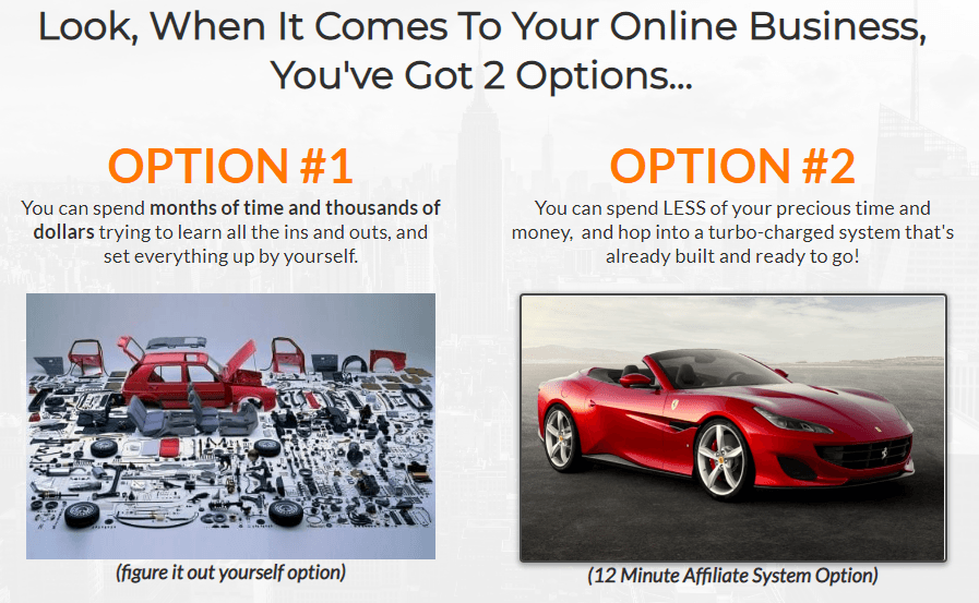 The 12 Minute Affiliate System DIY vs DFY