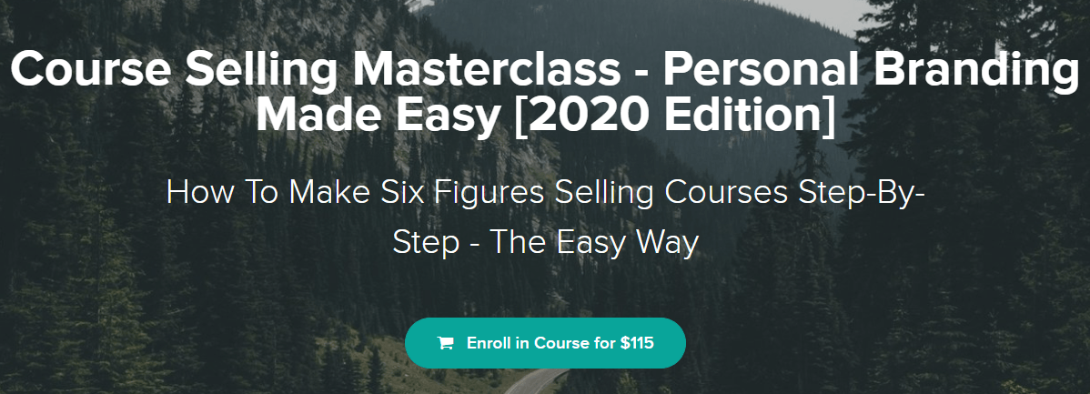 bye 9 to 5 Course Selling Masterclass