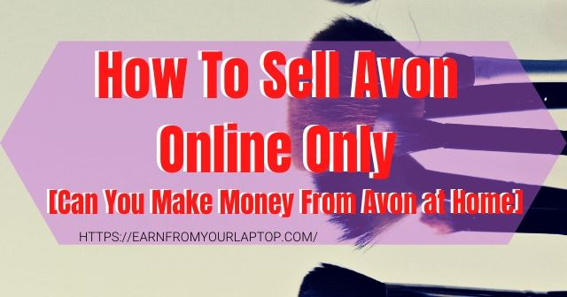 How-To-Sell-Avon-Online-Only header image