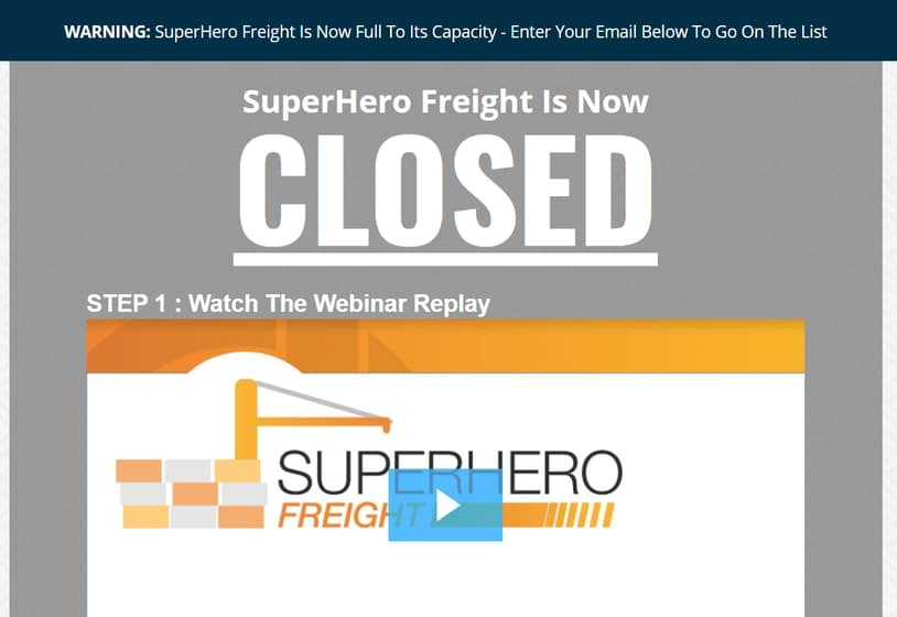 marketpalce superheroes superherofreightclosed