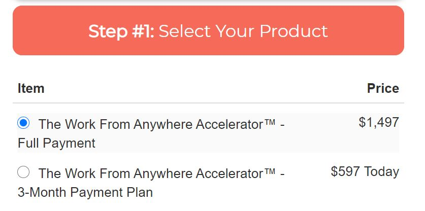 Work Fromanywhere Accelerator Review cost