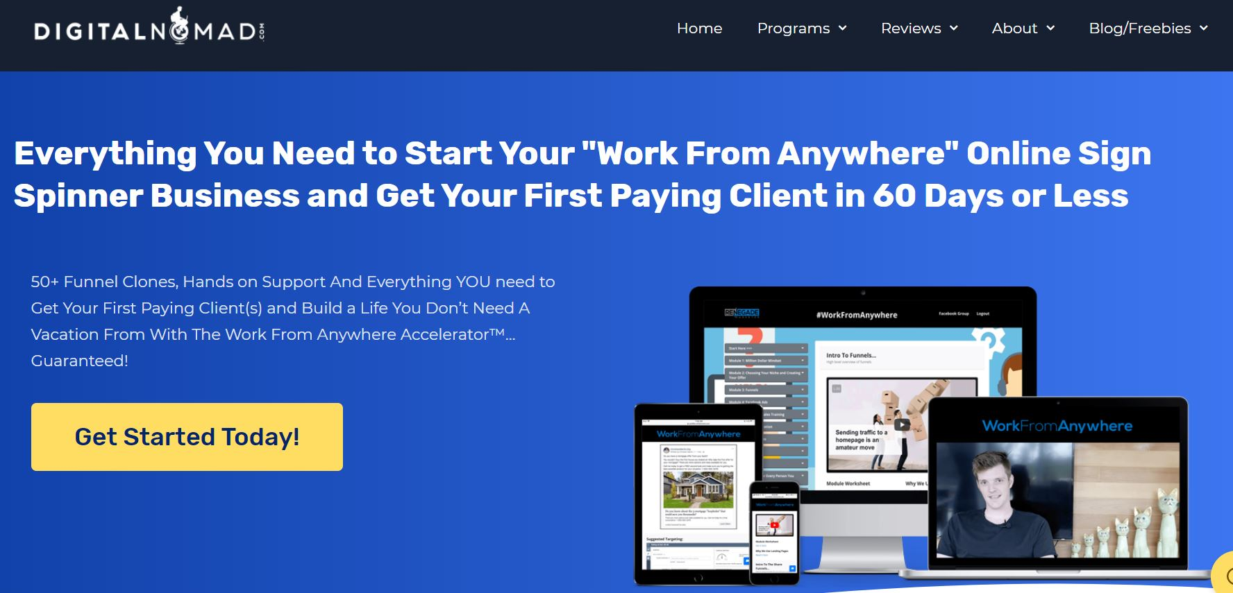 Work Fromanywhere Accelerator Review website