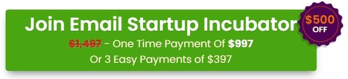 What Is Email Startup Incubator About cost