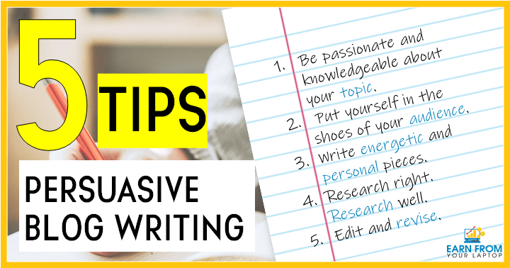 5 Tips on How To Write A Great Blog Article