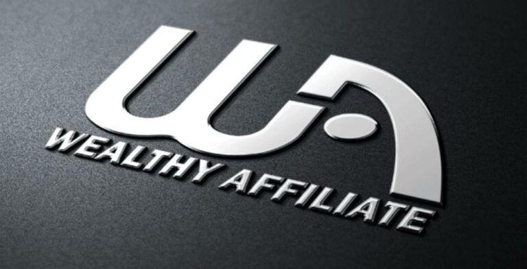 Wealthy Affiliate Logo Black