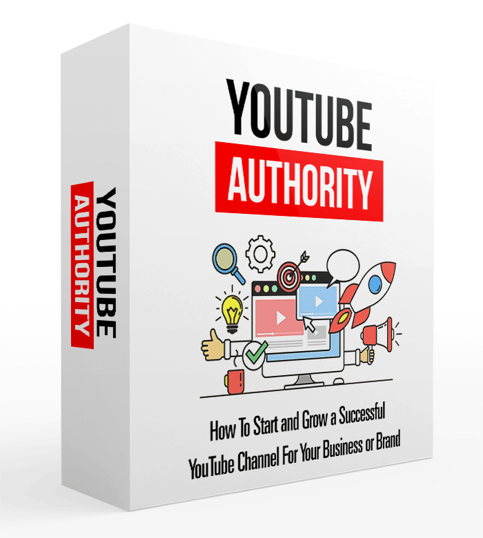 YouTube Authority Course box
