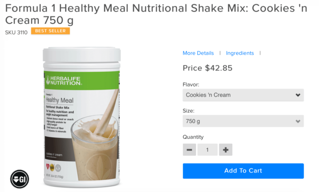 Can You Make Money Selling Herbalife Herbalife Formula 1 Nutritional Shakes-Retail Price