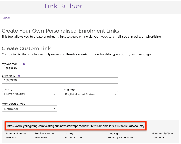 How To Make Money Selling Young Living Online Link Builder