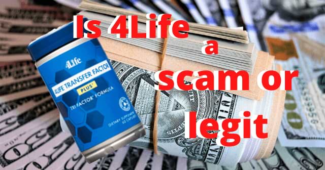 Is 4Life a scam or legit