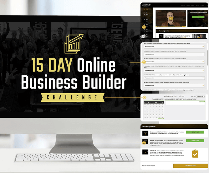 Legendary Marketer The-15-Day-Online-Business-Builder-Challenge
