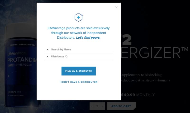 LifeVantage Nrf2 Synergizer USA buy step 2 ask for distributor