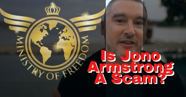 Is Jono Armstrong A Scam Ministry Of Freedom Review Is Jono Armstrong A Scam image header