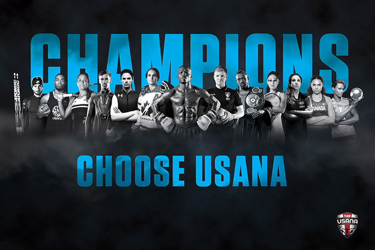 USANA products trusted by athletes
