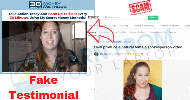 Ways To Avoid Work From Home Scams Online Pinterest Fake Testimonials with Actors
