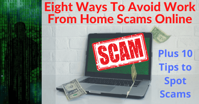 Ways To Avoid Work From Home Scams Online