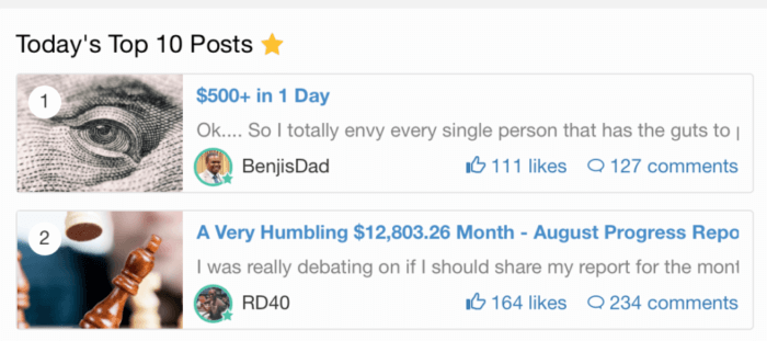 Wealthy Affilaite Success Posts