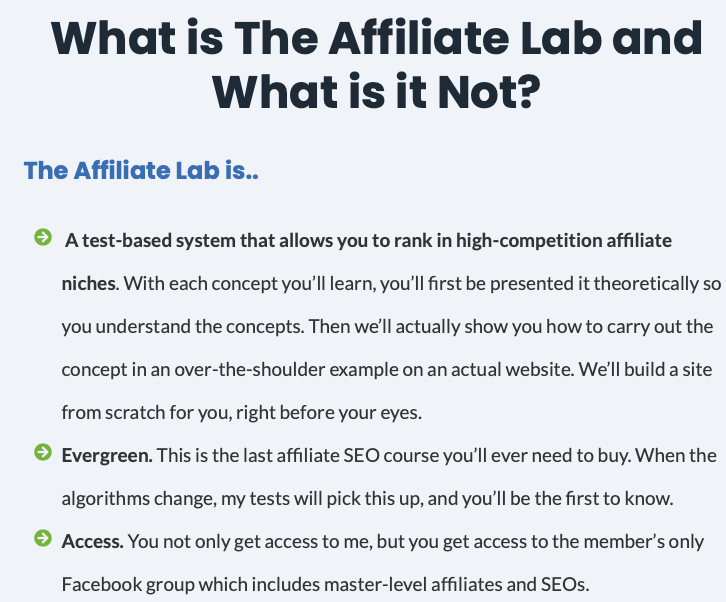 What is Affiliate Lab What is The Affiliate Lab and What is it Not