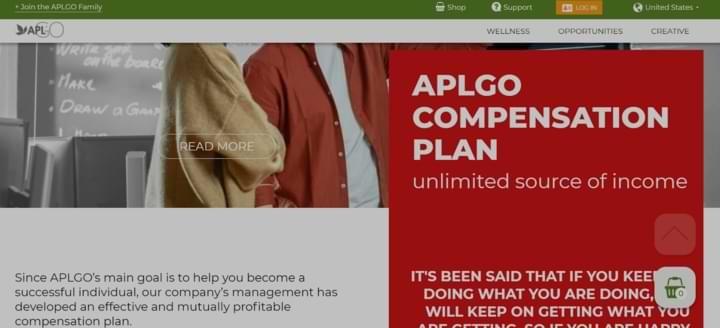 what is aplgo about compensation plan