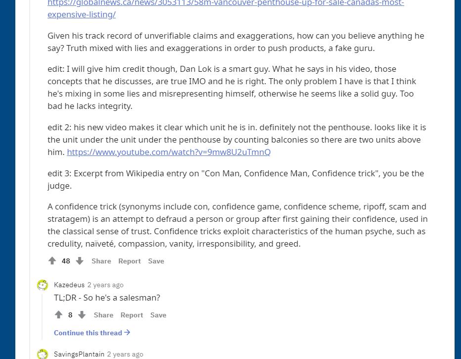 Is Dan Lok A Scam reddit 2 1