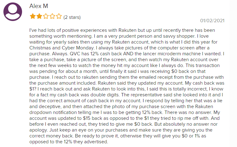 Is Rakuten a Scam Bad Reviews