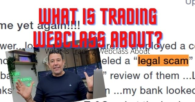 What is trading webclass about header image