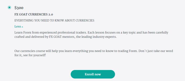 What is Fx Goat Currencies 2.0 Description