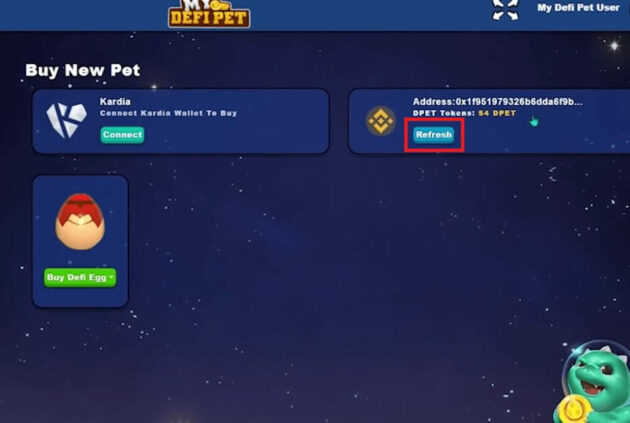 My DeFi Pet Review Last Step