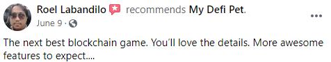 My DeFi Pet Review Positive Review