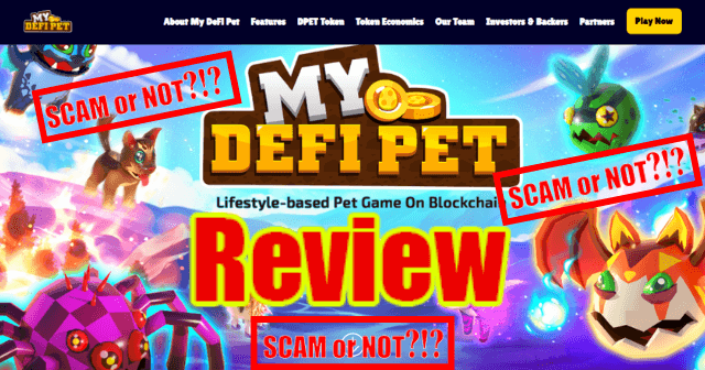 My DeFi Pet Review Featured Imaged