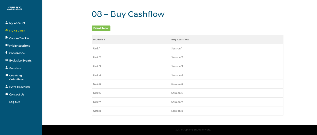 What Is Blue Sky Amazon Course About Buy Cashflow Method Sophie Howard