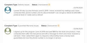 bbb complaint 3