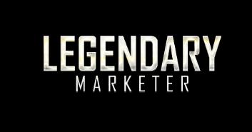 The Legendary Marketer Scam logo