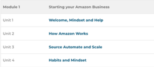 What Is Blue Sky Amazon Course About Module 1