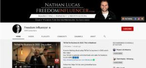 Nathan-Lucas-Freedom-Influencer youtube