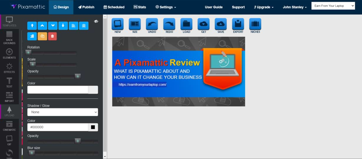 A Pixamattic Review final result