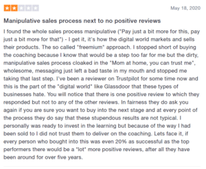 review manipulative sales process